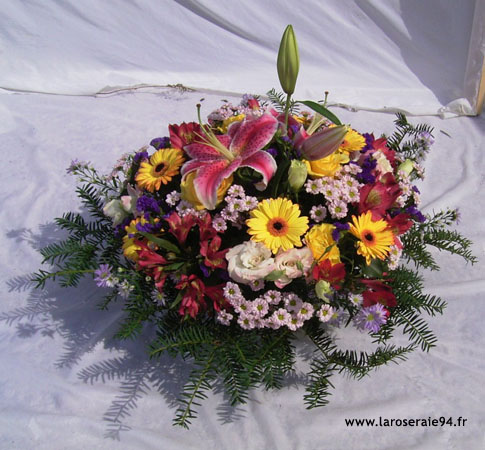 commande fleurs deuil